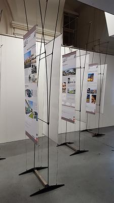 Foto der Ausstellungspaneele
