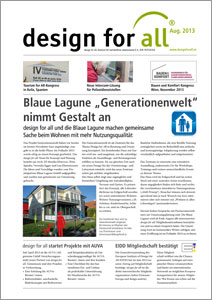 Titelseite des Newsletter August 2013