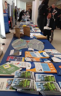 25 Meter Informationen über Aktivitäten und Angebote rund um Accessibility und Design for All.