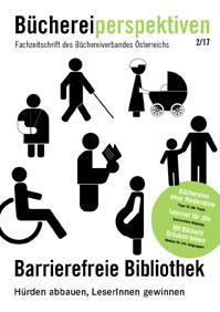 titelseite der Zeitschrift mit Piktogrammen für unterschiedliche Beeinträchtigungen.