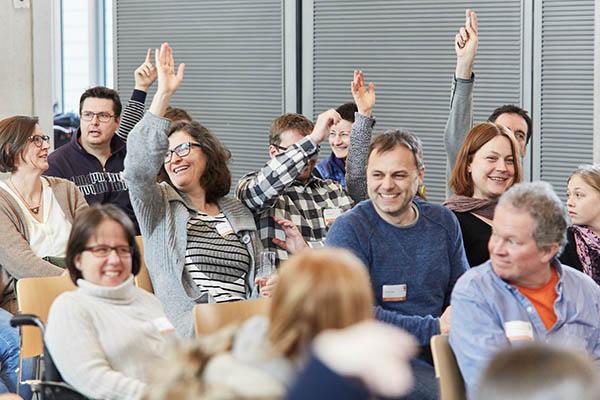Mitglieder der Consumer-Jury im Oskar-von-Miller Forum Foto © Daniel George