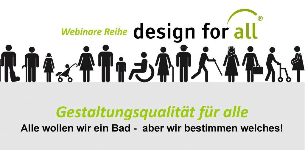 Webinarreihe zum Thema Bad und Sanitär