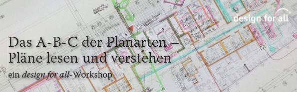 Titelbild A-B-C der Planarten, Foto eines Plans mit handschriftlchen Notizen.